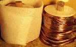 100 Feet Parallel Coils of 4 #23 magnet wire