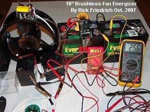 10 Inch Brushless Fan Kit