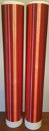 "Tesla Coil Secondary 30awg 20"" 1810 turns wound on 3.5 inch PVC (COPY)"