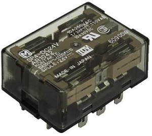 10A 12VDC 4PDT Latching Relay Contactor for rotating batteries
