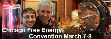 March 7-8, 2015 Chicago Free Energy Convention Workshop