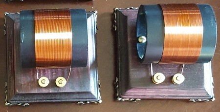 Extra Induction Coil with Variable Capacitor and LEDs.