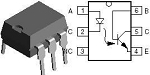 H11D1 or H11D3 Optocoupler HV Phototransistor For Capacitor Pulser