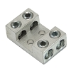 Four (4) Wire Listed Grounding and Power lug with two (2) #10 in. mounting holes (4)2-14AWG wire holes
